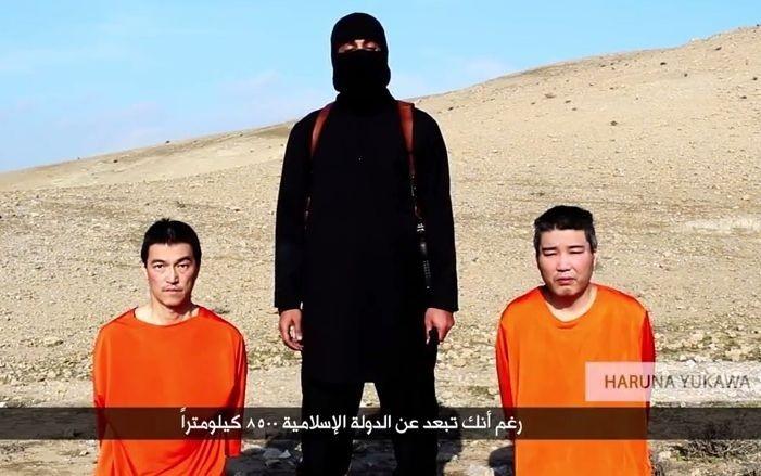 Japonští rukojmí - Islámský stát - terorismus