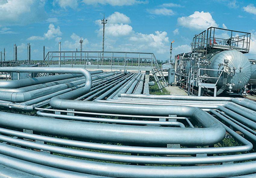 Naftogaz - plynové potrubí