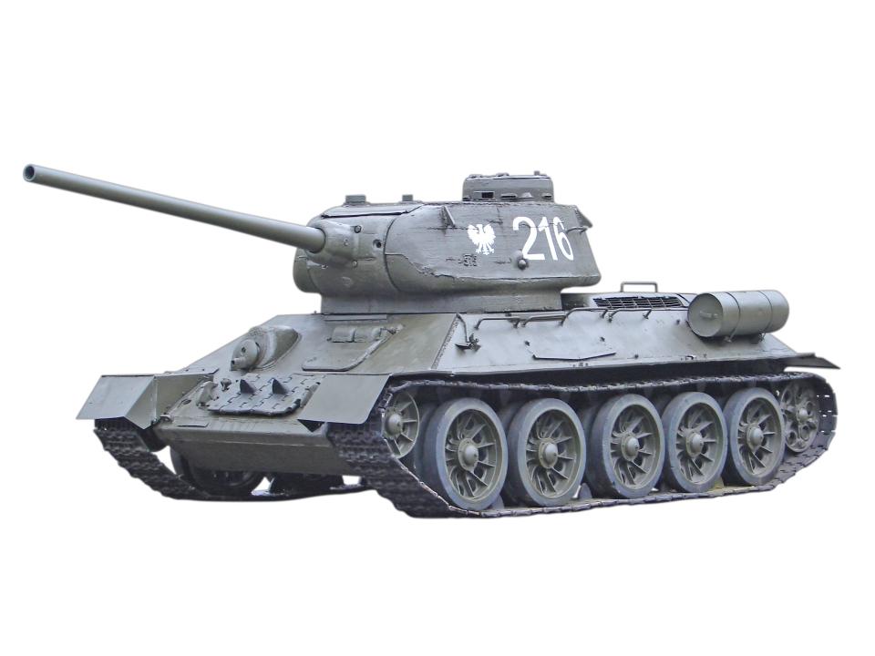 Ruský tank T34