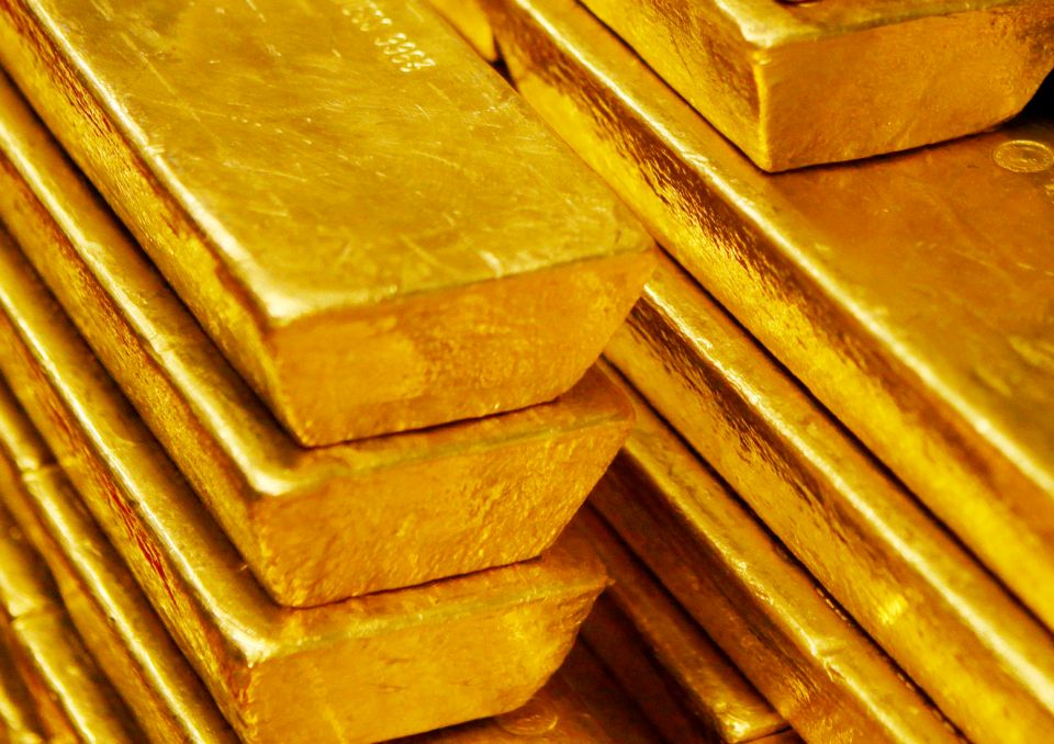 Zlato - zlaté cihly