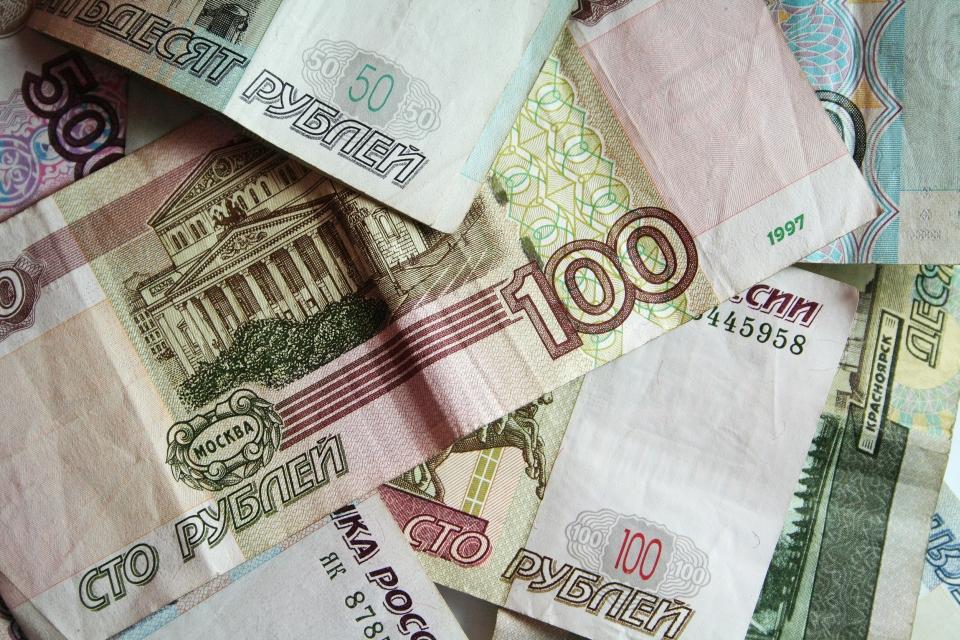 Ruský rubl (RUB) - peníze, bankovky