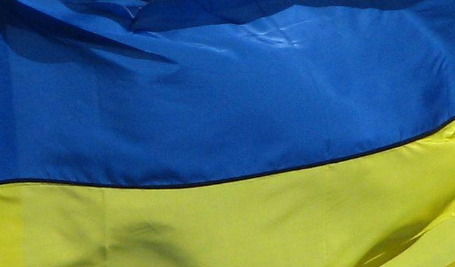 Ukrajina - ukrajinská vlajka