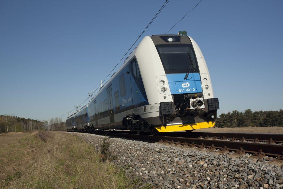 Vlak - RegioPartner - České dráhy