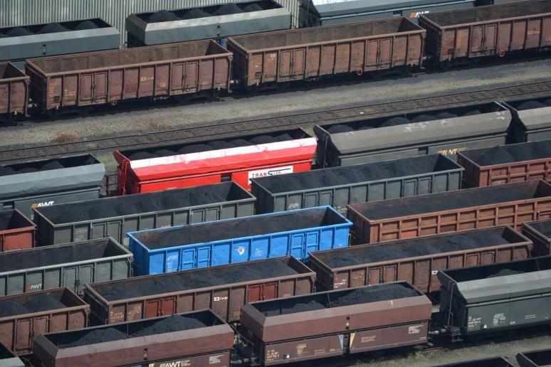 OKD - vagóny s uhlím