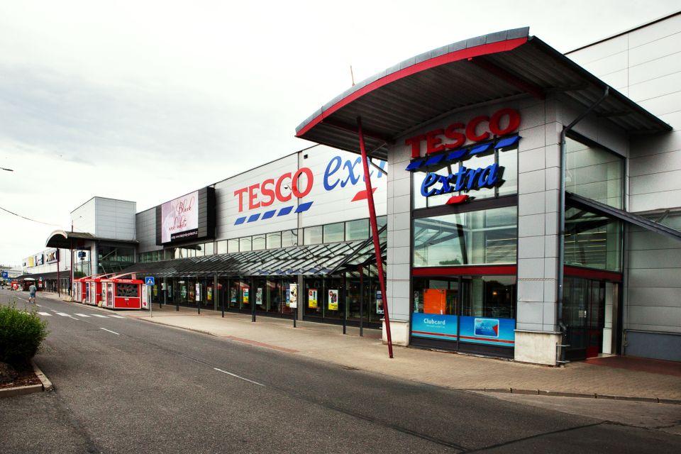 Tesco - maloobchodní prodej