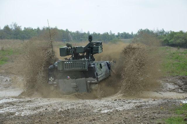 Pandur II CZ - vojenská technika - Armáda ČR