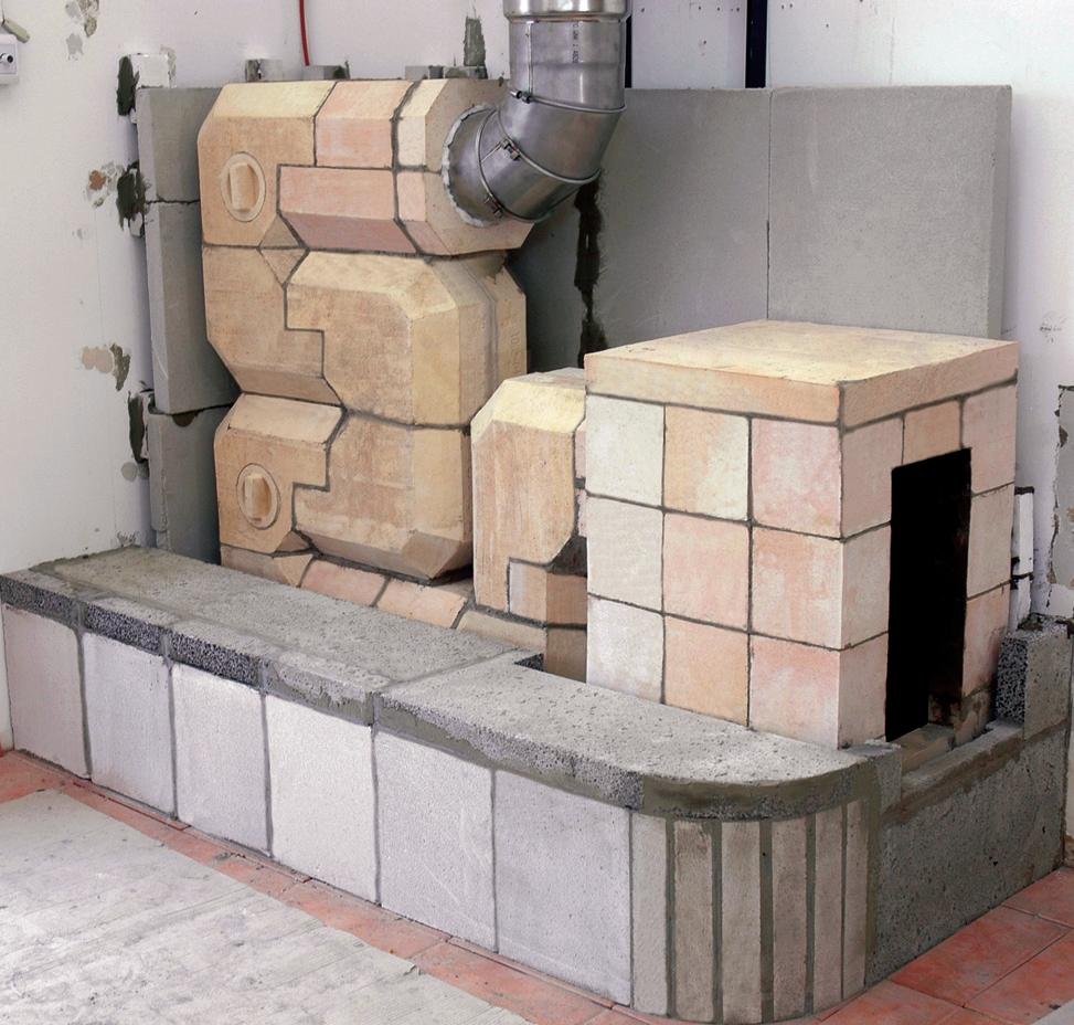 Šamotová kamna
