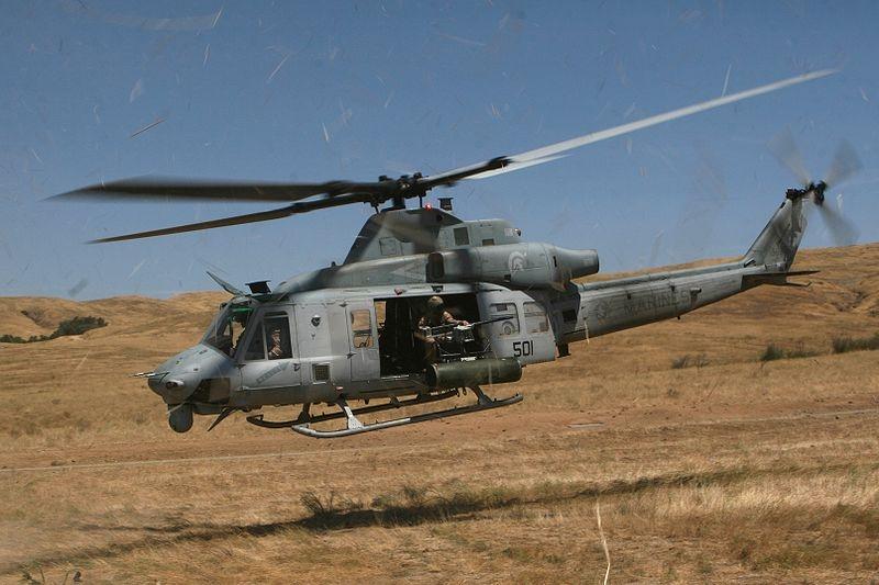 Helikoptéra Bell UH-1Y Venom