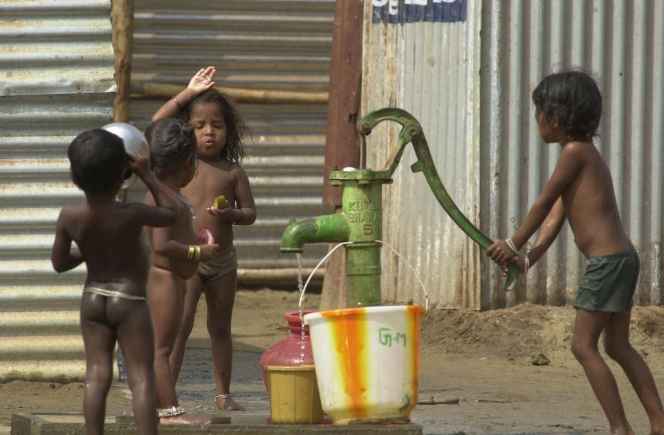 Chudé děti - chudoba