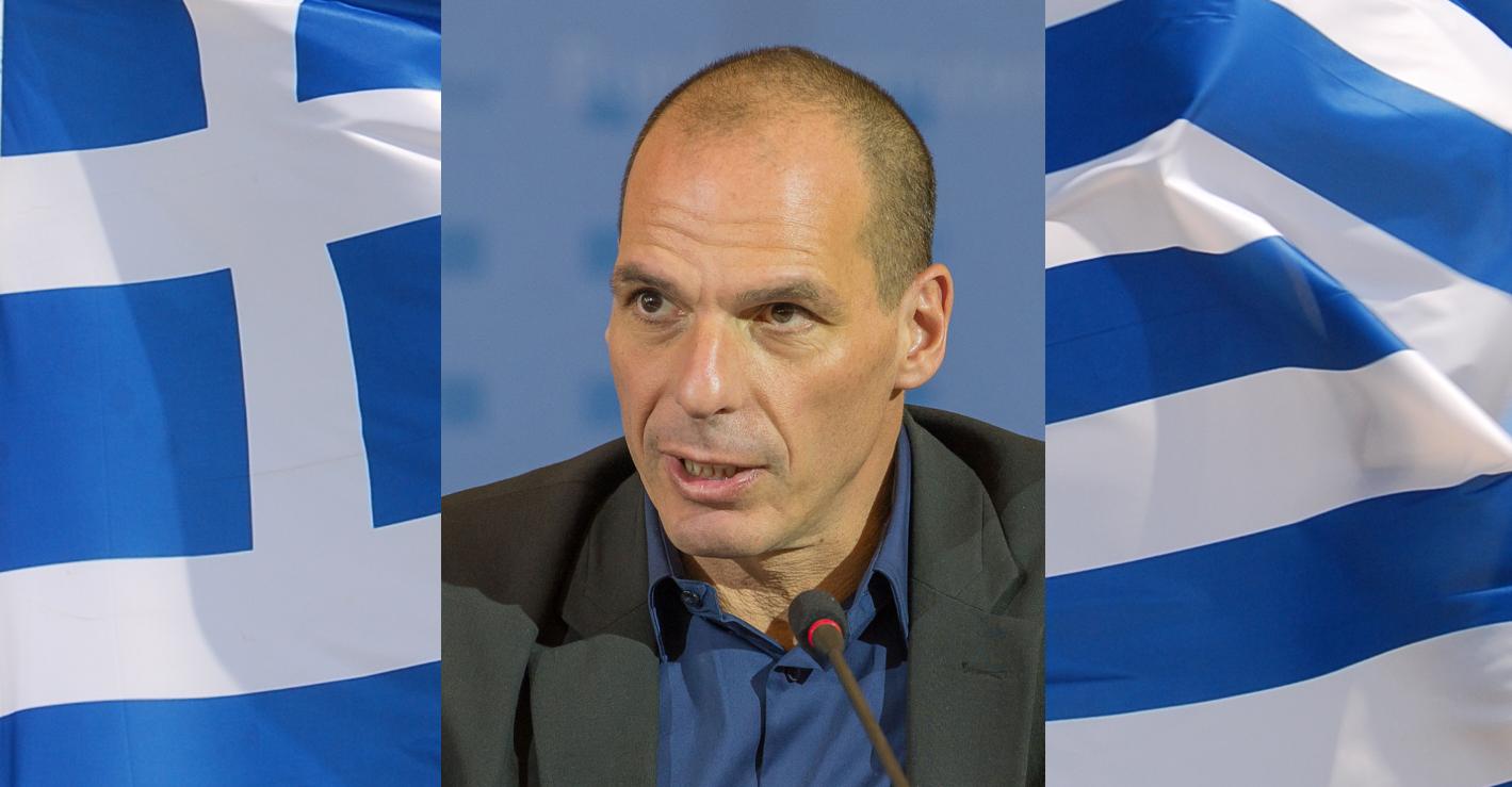 Janis Varufakis (Yanis Varoufakis) - bývalý řecký ministr financí