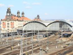 Hlavní nádraží - Wilsonovo nádraží v Praze