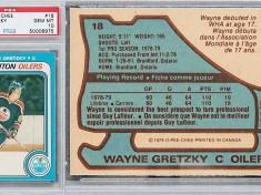 Hokejová kartička - Wayne Gretzky