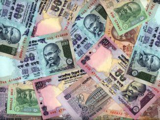 Indické peníze - bankovky