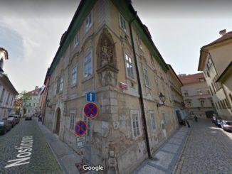Dům u Filipů - residence Nosticova 7, Praha 1 - Malá Strana